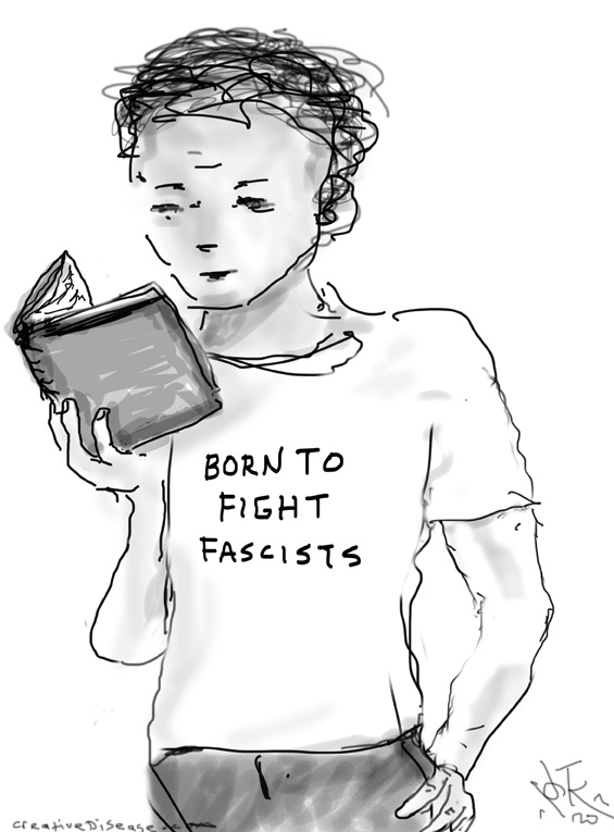 fight fascists comic